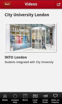 INTO City London student app apk screenshot