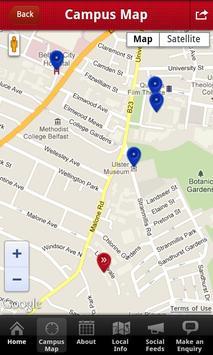 INTO QUB student app screenshot 1