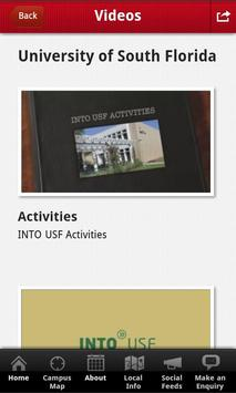 INTO USF student app apk screenshot