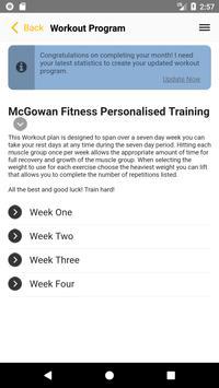 McGowan Fitness apk screenshot