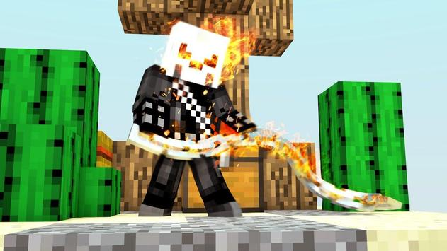 Ghost Skins for Minecraft PE poster