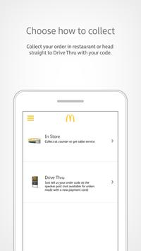 McDonald's UK: MyMcDonald's screenshot 1