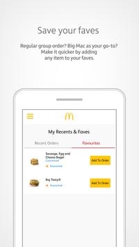 McDonald's UK: MyMcDonald's screenshot 3