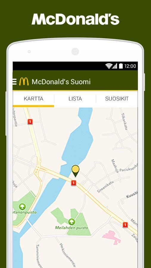 Mcdonald S Suomi For Android Apk Download