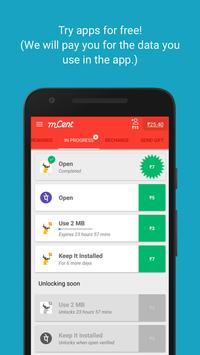 mCent - Free Mobile Recharge ポスター mCent - Free Mobile Recharge apk  スクリーンショット ...