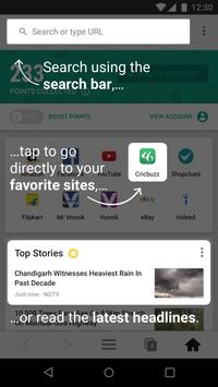 mCent Browser - Recharge Browser apk screenshot