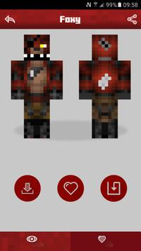 Skins For Minecraft PE FNAF APK Download Free Productivity APP - Skins para minecraft pe foxy