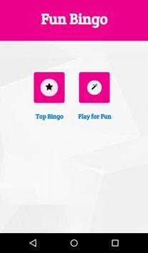 Fun Bingo app poster
