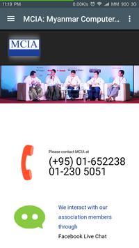 MCIA Myanmar apk screenshot