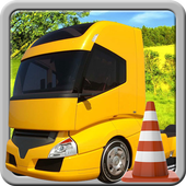 Truck Parking 3D icon