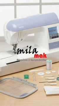 Costura e Bordado Milamak poster
