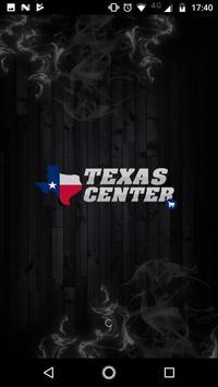 Texas Center poster