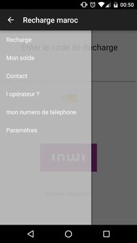 recharge maroc apk screenshot