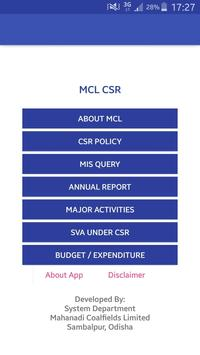 MCL CSR poster