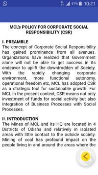 MCL CSR screenshot 1