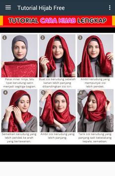 Tutorial Cute Hijab Free poster