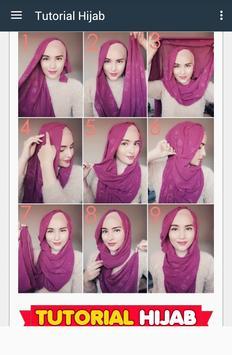 Tutorial Cute Hijab Free screenshot 2