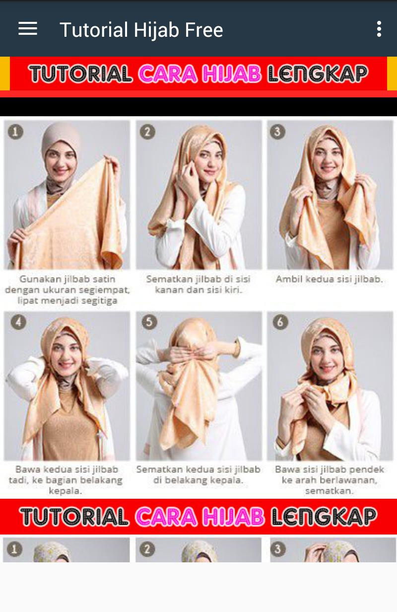 Tutorial Cute Kids Hijab poster