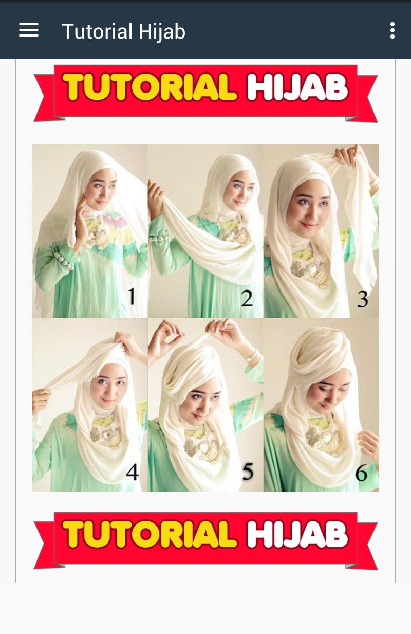 Tutorial Korean Hijab poster