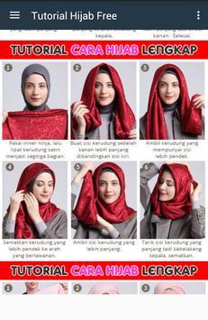 Tutorial Hijab 2017 Free screenshot 3
