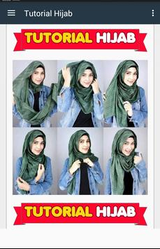 Tutorial Hijab 2017 Free screenshot 4