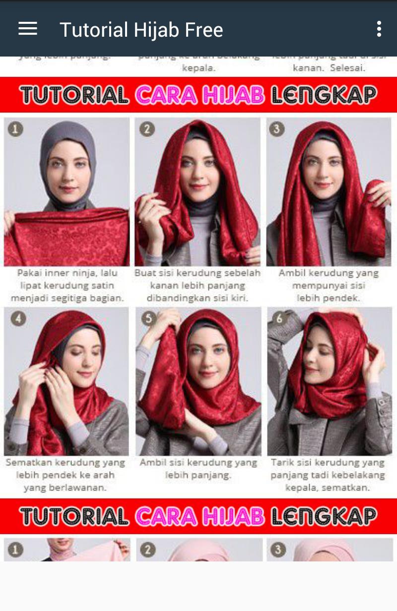 Tutorial Hijab Jeans poster