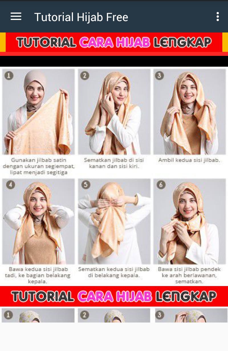 Tutorial Hijab Montage poster
