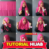 Tutorial Hijab Party Kebaya icon