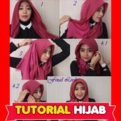 Tutorial Hijab Punuk Unta icon