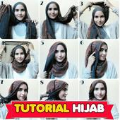 Tutorial Hijab Syar'i Photo icon
