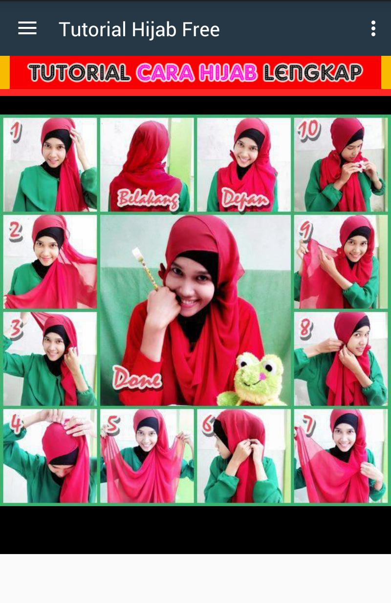 Tutorial Hijab Syar'i Photo poster