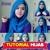 Tutorial Jilbab Wolvis icon