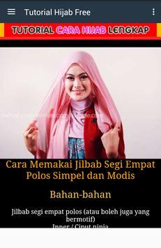 Tutorial Make Up Salon Hijab poster