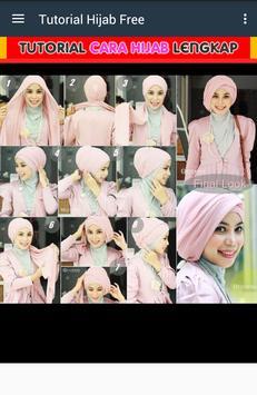 Tutorial Make Up Salon Hijab screenshot 1