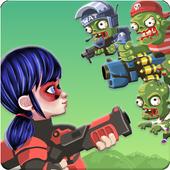 Zombies Attack Ladybug icon