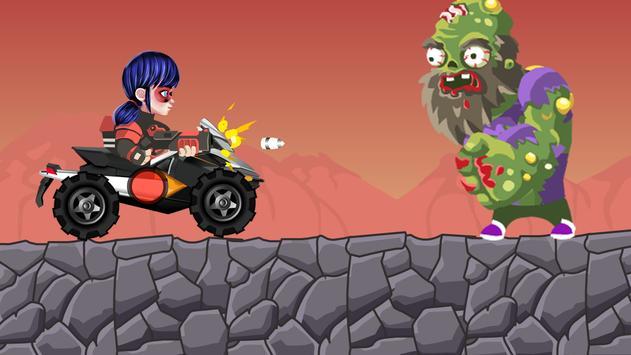 Zombies Attack Ladybug screenshot 1