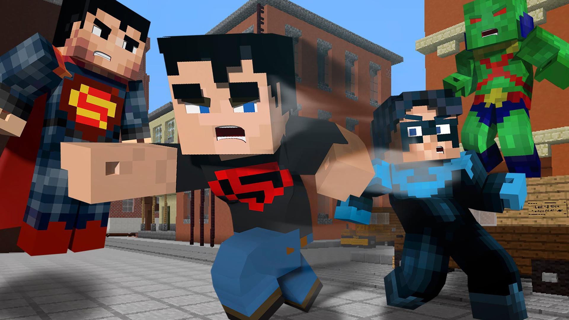 скины для майнкрафт супергерои 2d #9