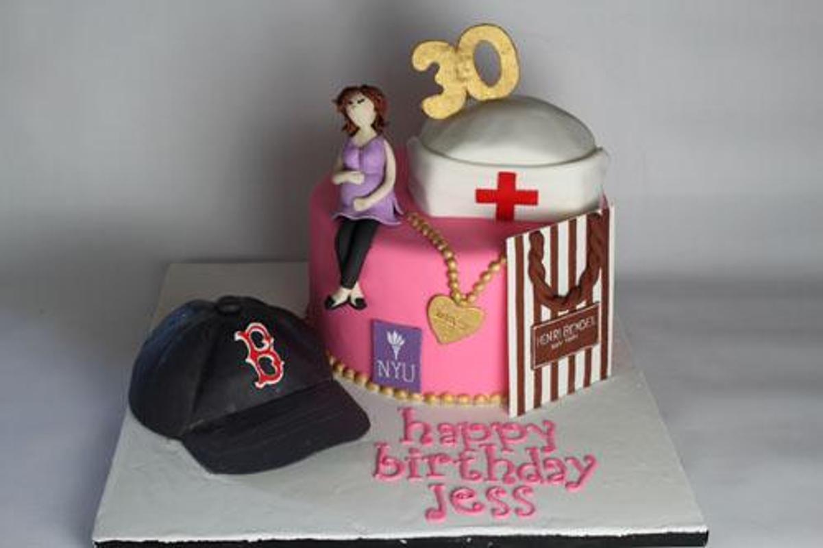 80 Elegant 30th Birthday Cakes Screenshot 6