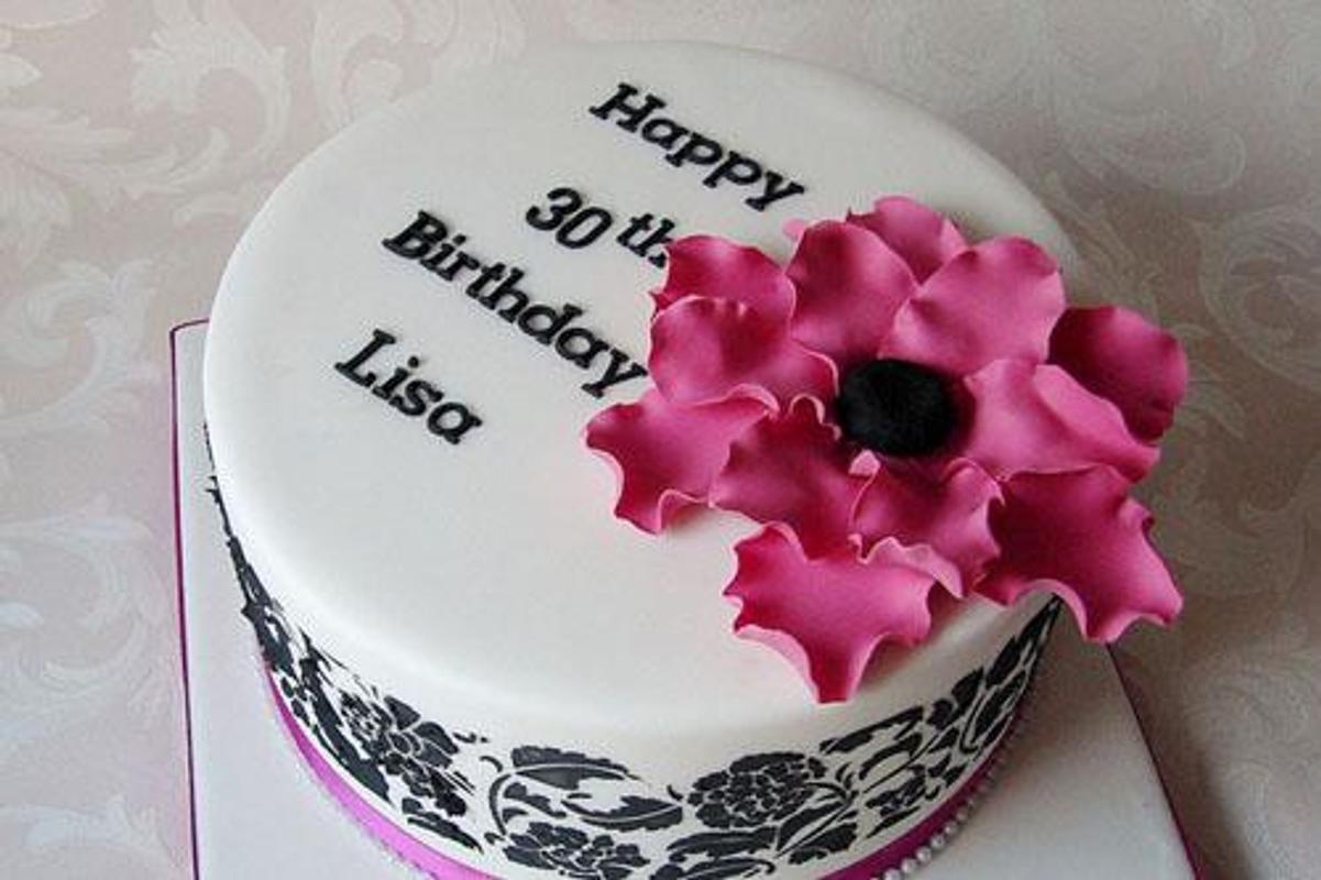 80 Elegant 30th Birthday Cakes Screenshot 9