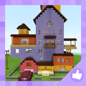 Hey Neighbor: Funny Mini-game. Map for MCPE icon