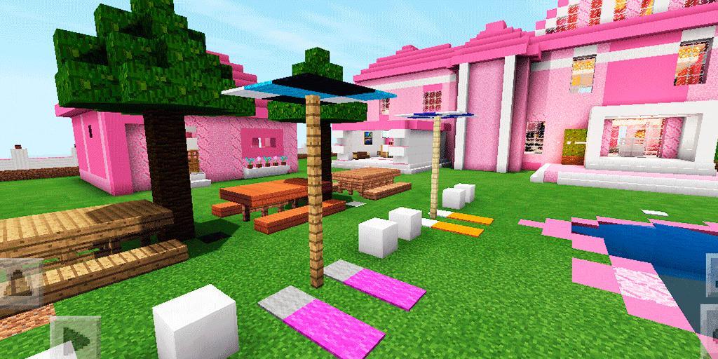 minecraft barbie dream house map download