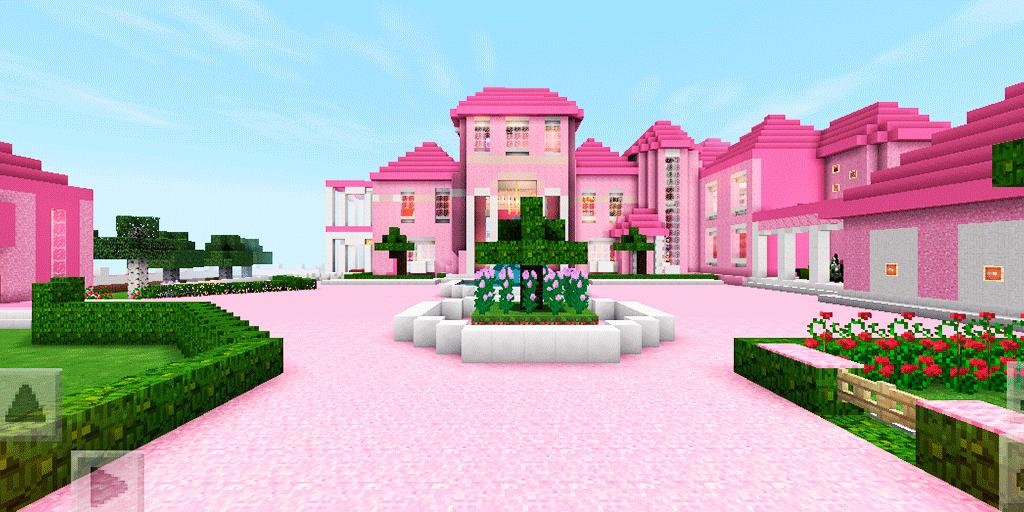 2018 Pink Princess House For Girls Map Mcpe For Android Apk Download