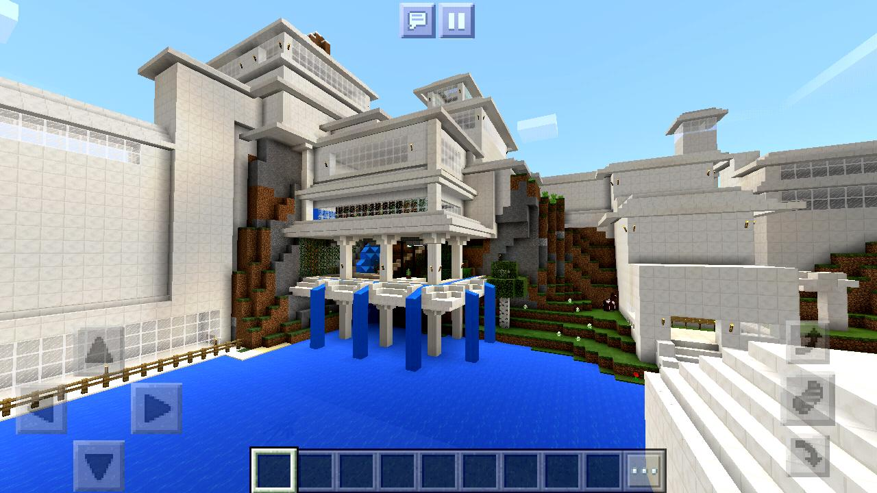 Iron Man Stark Mansion Map Minecraft Pe For Android Apk Download