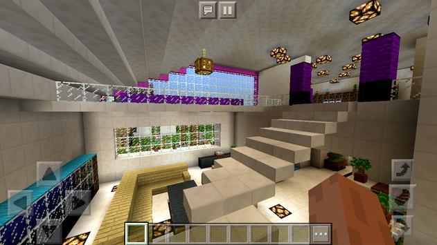 Pink House of Redstone Mechanisms Map MCPE screenshot 3