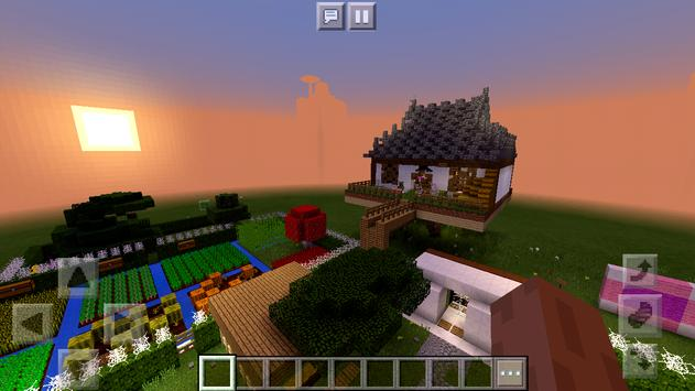 Pink House of Redstone Mechanisms Map MCPE poster