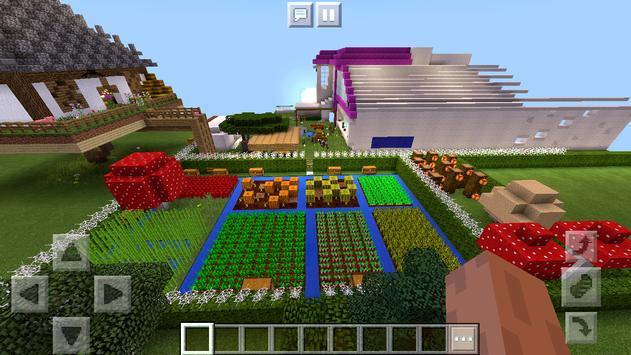 Pink House of Redstone Mechanisms Map MCPE screenshot 13