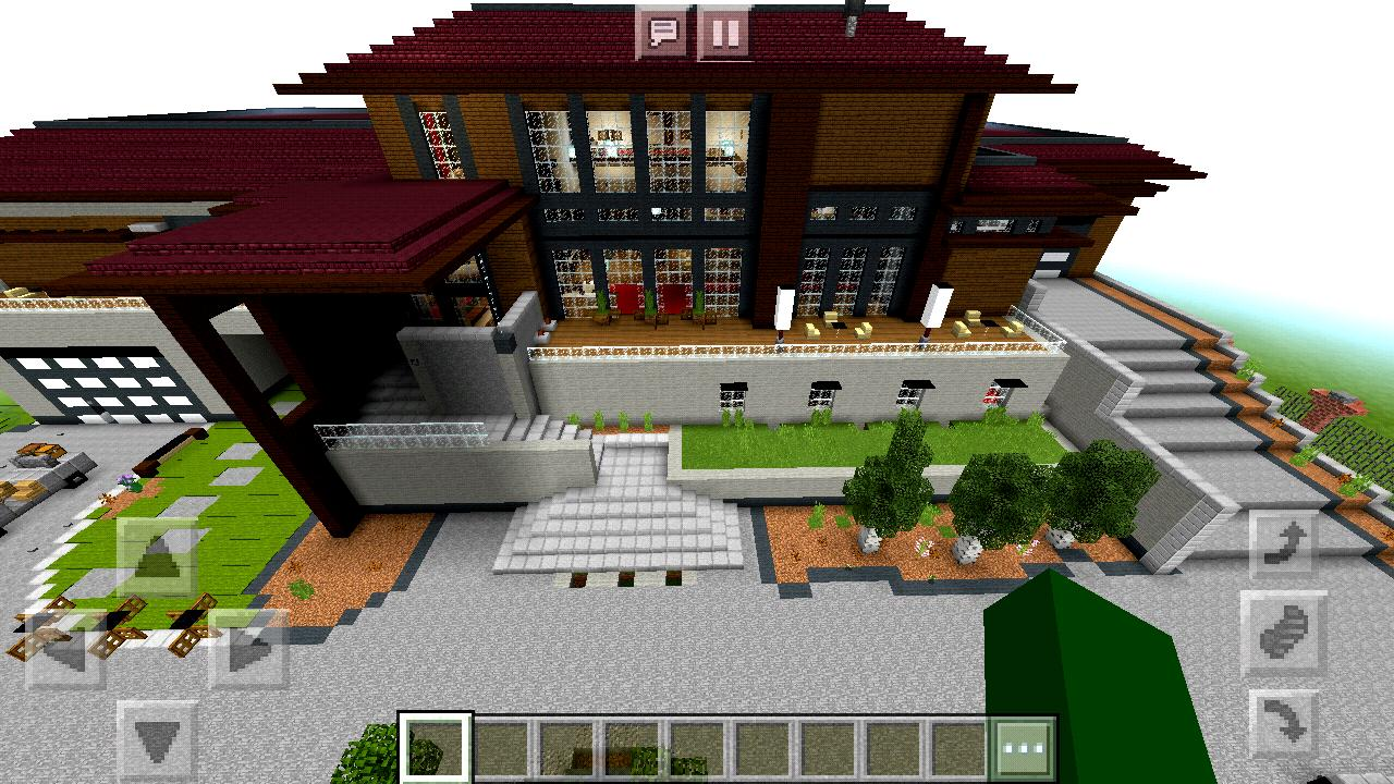 2018 Rich Modern Mansion Map Minecraft PE for Android - APK
