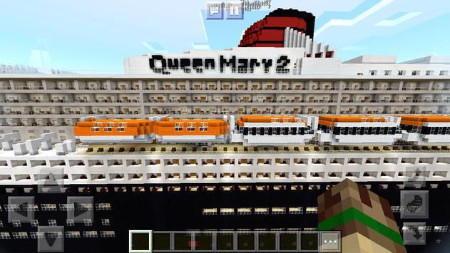 New Rich Modern Ship Map Minecraft PE screenshot 13