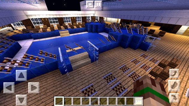 New Rich Modern Ship Map Minecraft PE screenshot 3