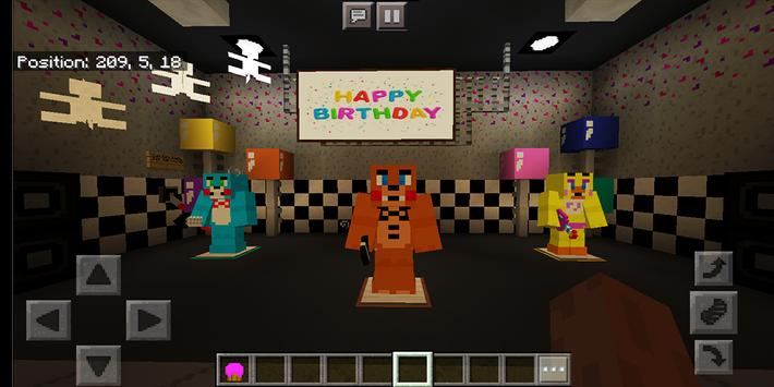 Welcome at Freddy's. Map for MCPE screenshot 4
